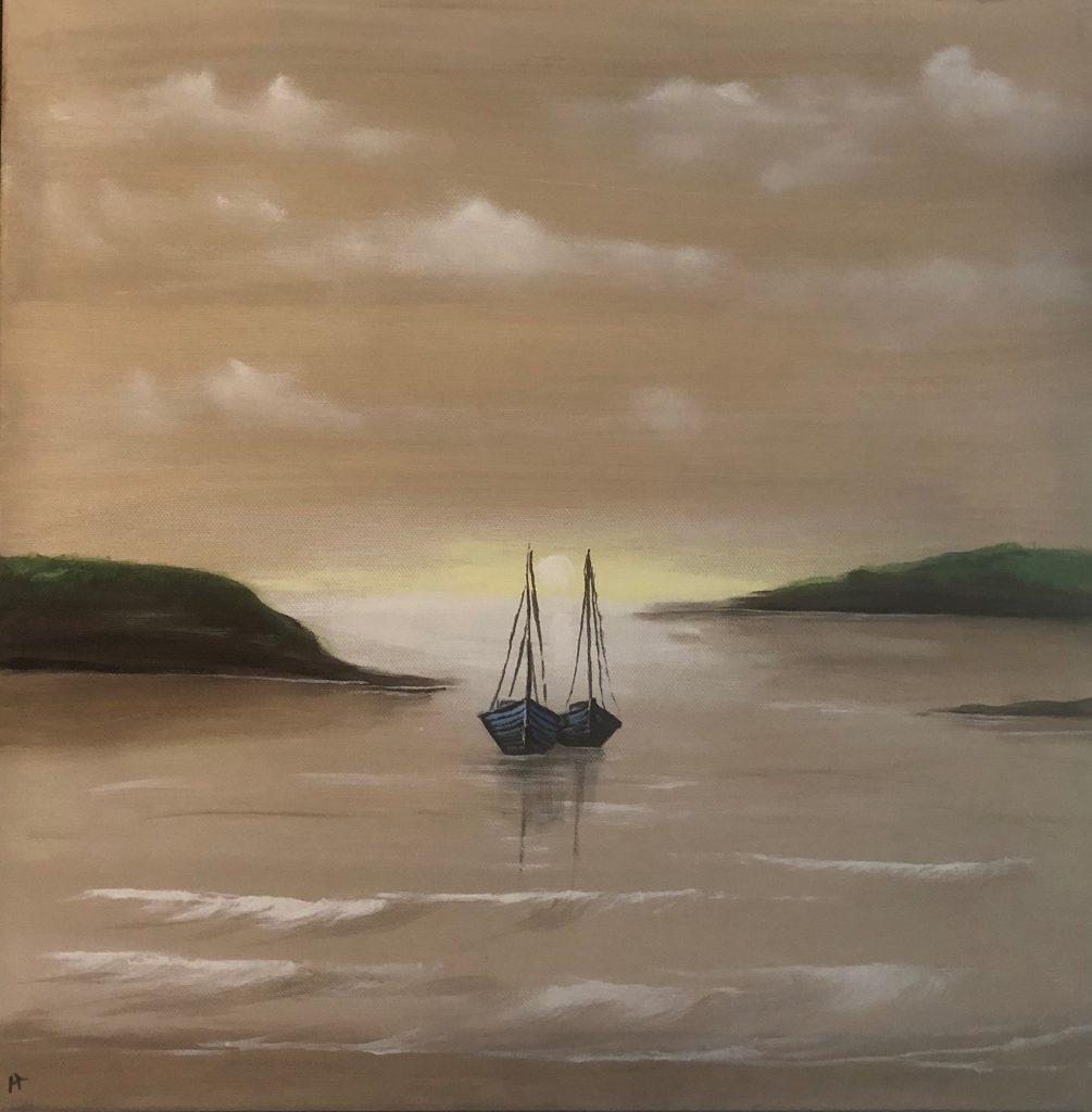 Gemälde Vermietung